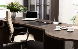 Office Furniture Staging and Work Space Design